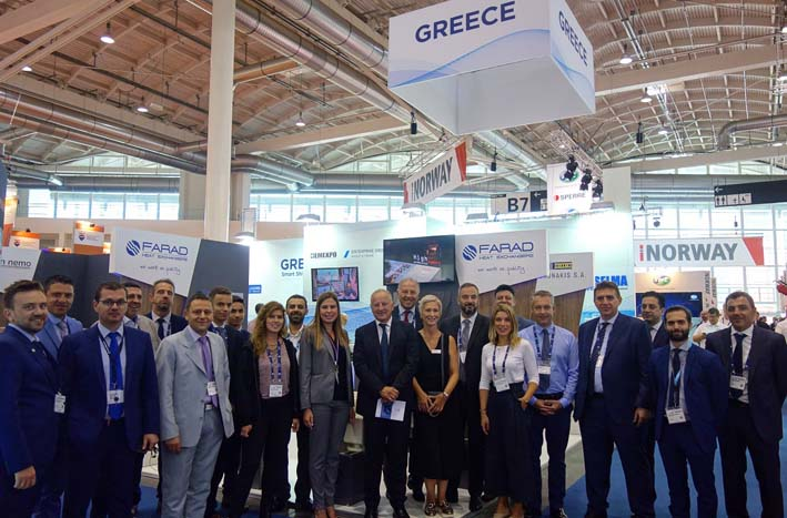 Valiadis S.A. joined a delegation of 25 leading Greek companies, members of the HEMEXPO (Hellenic Marine Equipment Manufacturers & Exporters) and the WIMA ...